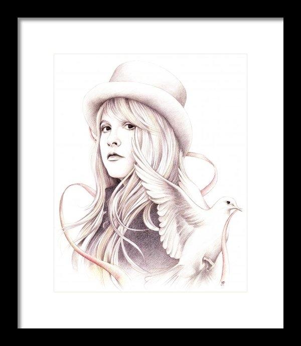 Johanna Pieterman - White Winged Dove Print