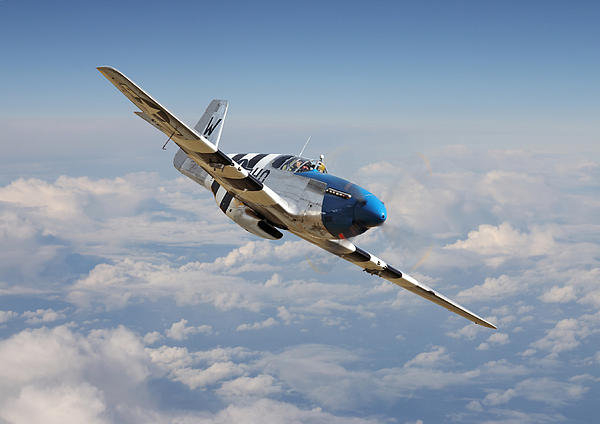 Pat Speirs - P51 Mustang - Symphony in... Print