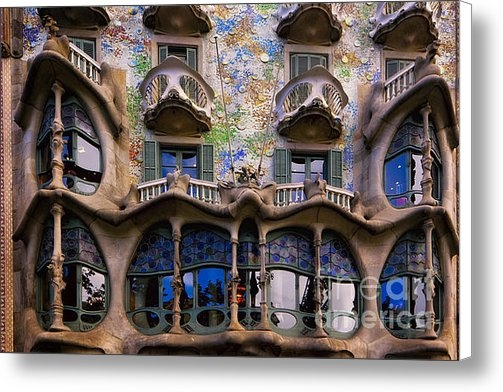 George Oze - Antoni Gaudi Casa Batllo ... Print