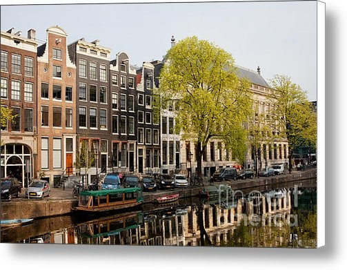 Artur Bogacki - Amsterdam Houses along th... Print