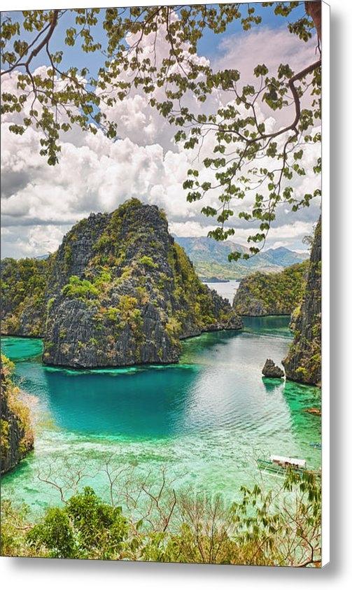 MotHaiBaPhoto Prints - Coron lagoon Print