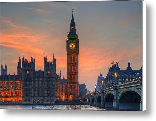 Matthew Gibson - Big Ben Parliament and A ... Print