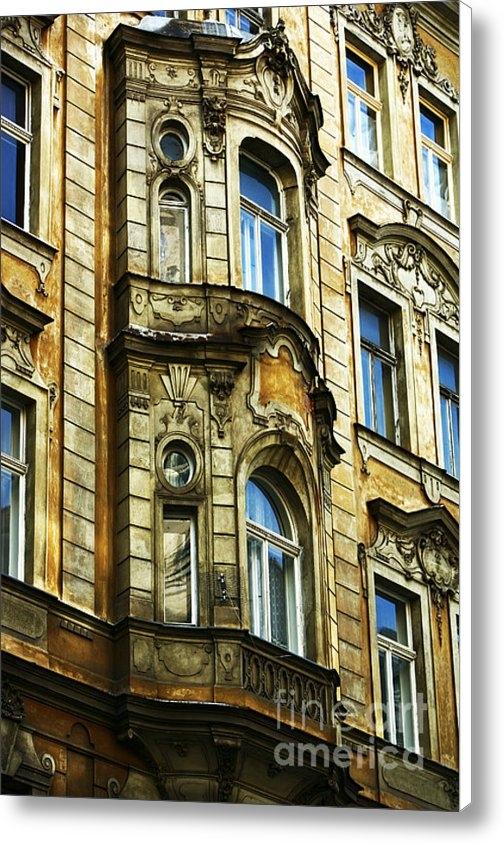 John Rizzuto - Prague Architecture Print