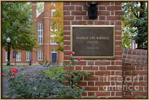 John Greim - Franklin and Marshall  Print