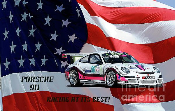 Dennis Hammer - Porsche Racing Print