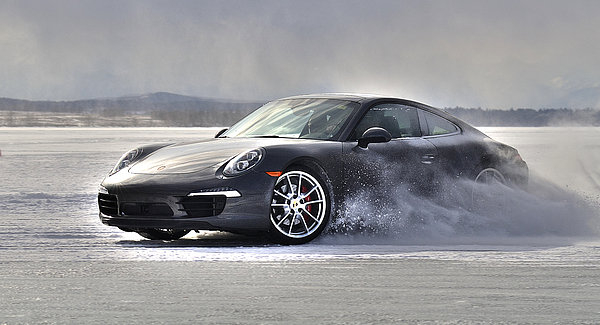 Kevin Johnston - Porsche 911 Sliding throu... Print
