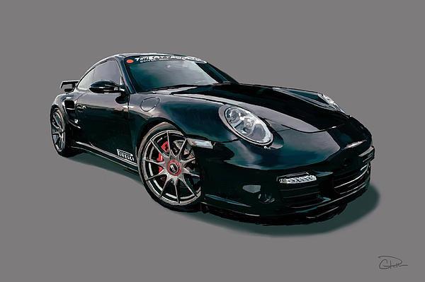 Charley Pallos - 2013 Porsche 997 Print
