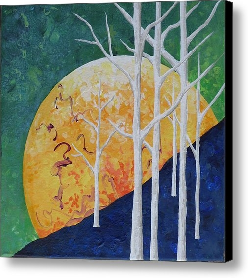 Dianne Margaret Evans - Six Trees Print