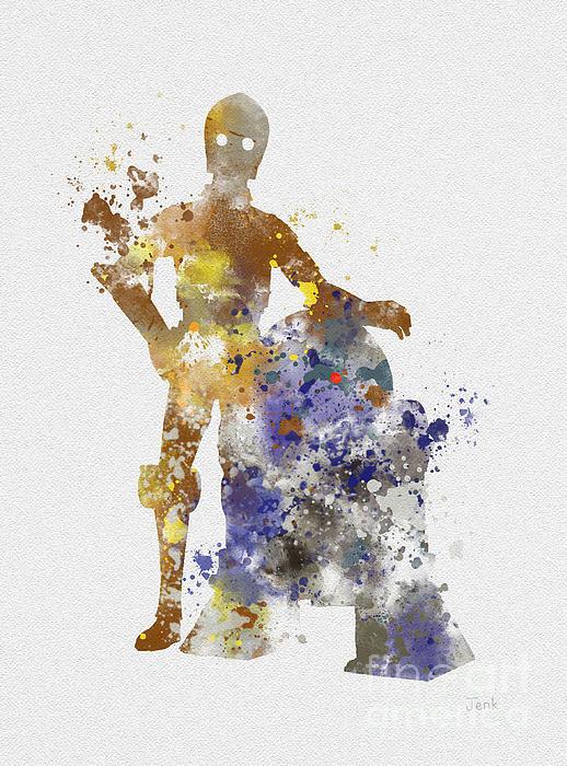 Rebecca Jenkins - The Droids Print
