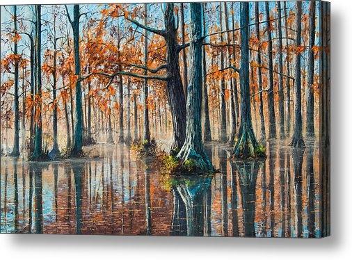 Bill Jackson - Reflections on Autumn Print