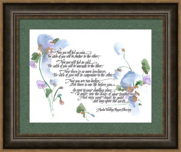 Darlene Flood - Apache Wedding Prayer Ble... Print
