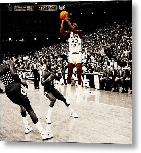 Brian Reaves - Air Jordan UNC Last Shot Print