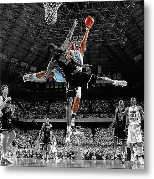 Brian Reaves - Duke and UNC Basketball Print