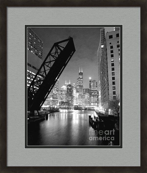 Horsch Gallery - Chicago Skyline - Black a... Print