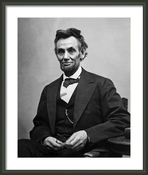 International  Images - Portrait of President Abr... Print