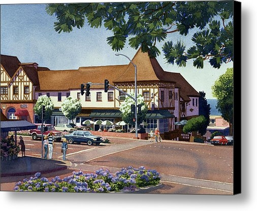Mary Helmreich - Stratford Square Del Mar Print