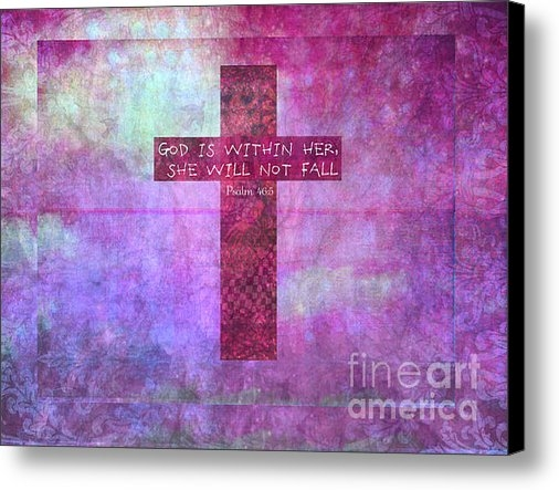 Creative Christian - Psalm 46 with Christian C... Print