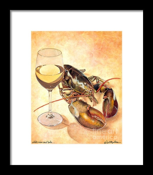 Will Bullas - White Wine And Tails... Print
