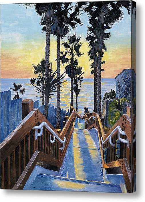 Andrew Palmer - Stairway to paradise Print