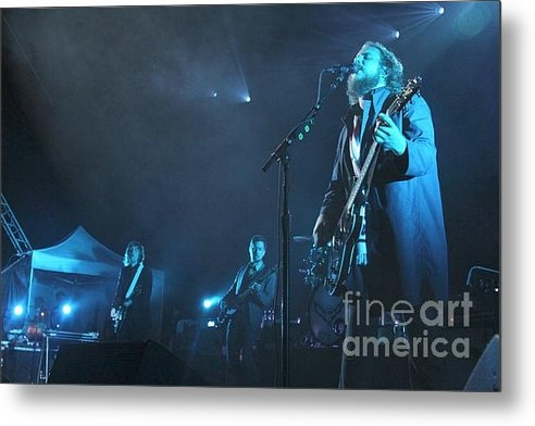Front Row  Photographs  - My Morning Jacket Print