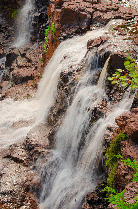 Shutter Happens Photography - The Falls of Gooseberry Print