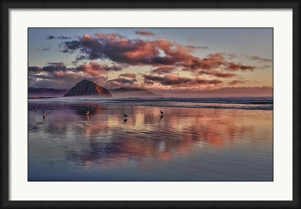 Beth Sargent - Sunset at Morro Strand Print