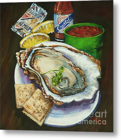Dianne Parks - Oyster and Crystal Print