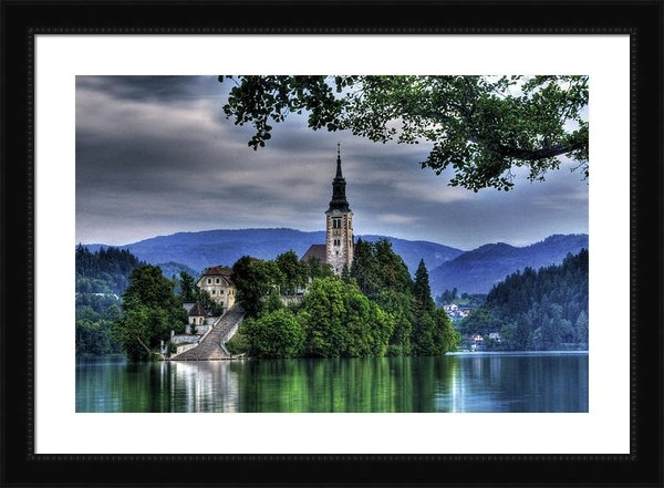 Don Wolf - Mystical Lake Bled Print