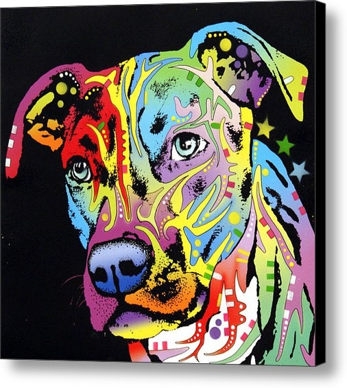 Dean Russo - Angel Pit Bull Print