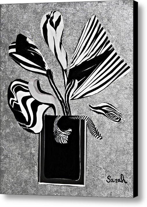 Sarah Loft - From the Zebras Garden Print