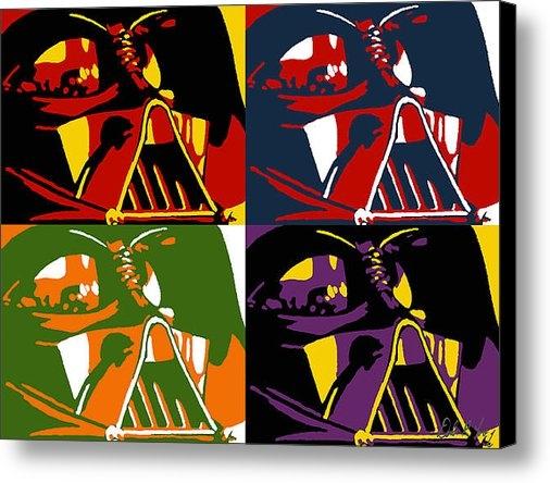 Dale Loos Jr - Pop Art Vader Print