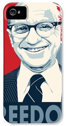John Lehman - Milton Friedman Print