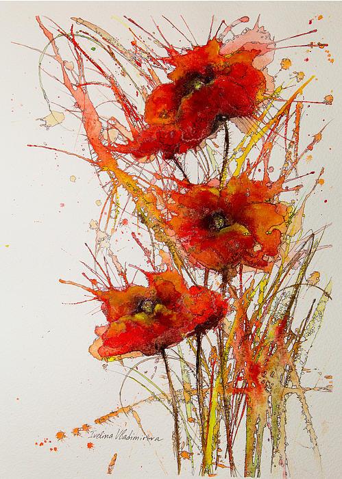 Ivelina Vladimirova - Poppies Print