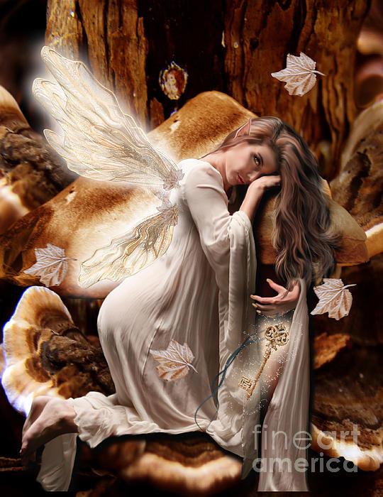 Babette Van den Berg - Fairy of the Key Print