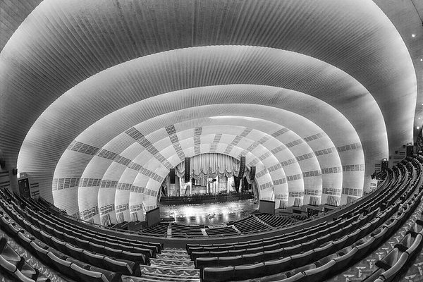 Susan Candelario - Radio City Music Hall BW Print