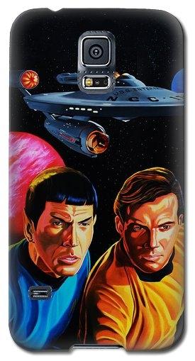 Robert Steen - Captain Kirk and Mr. Spoc... Print