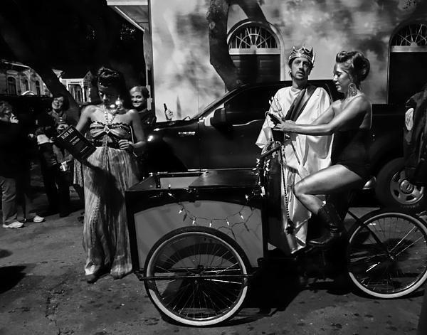 Louis Maistros - Krewe du Vieux Parade New... Print