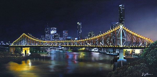 Greg Nunn - A Night Time Story Print