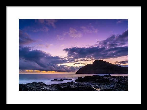 John Perez - Purple Skies Print