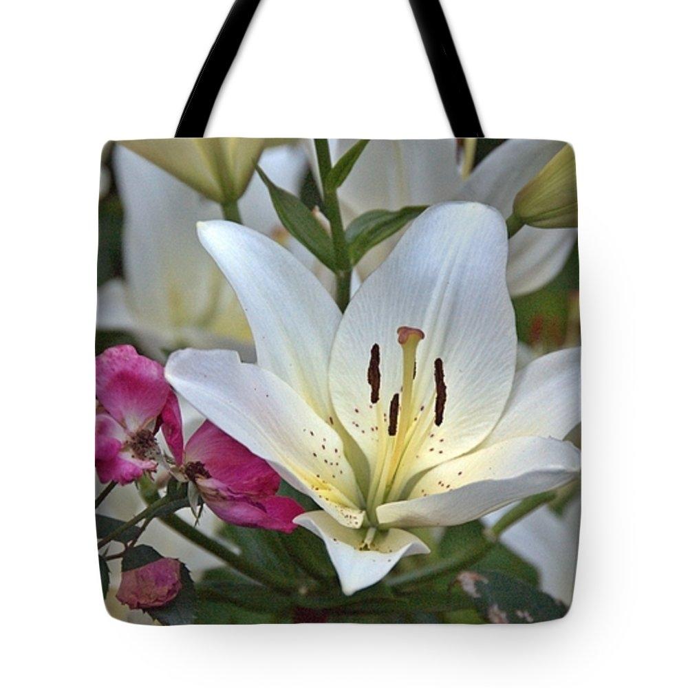 Anita Hohl - Lilies and Roses Print