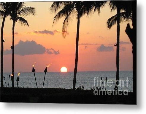 Steve Rassner - Tiki Hawaiian Sunset Print