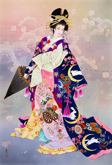 Haruyo Morita - Tsukiuagi Print