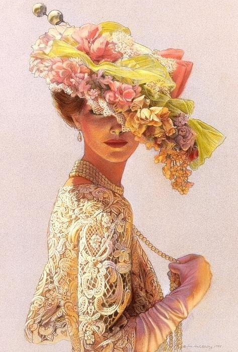 Sue Halstenberg - Lady Victoria Victorian E... Print