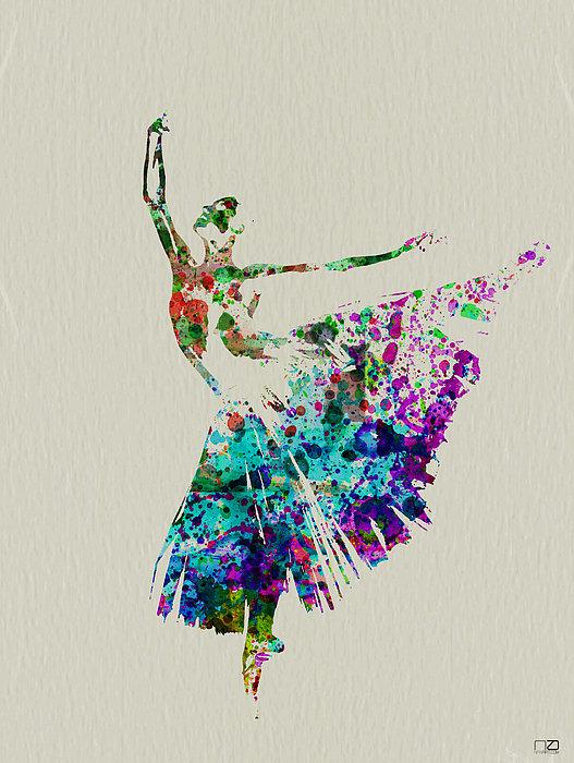 Naxart Studio - Gorgeous Ballerina Print
