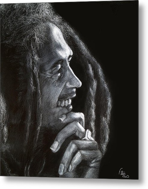 Fithi Abraham - Bob Marley  Print