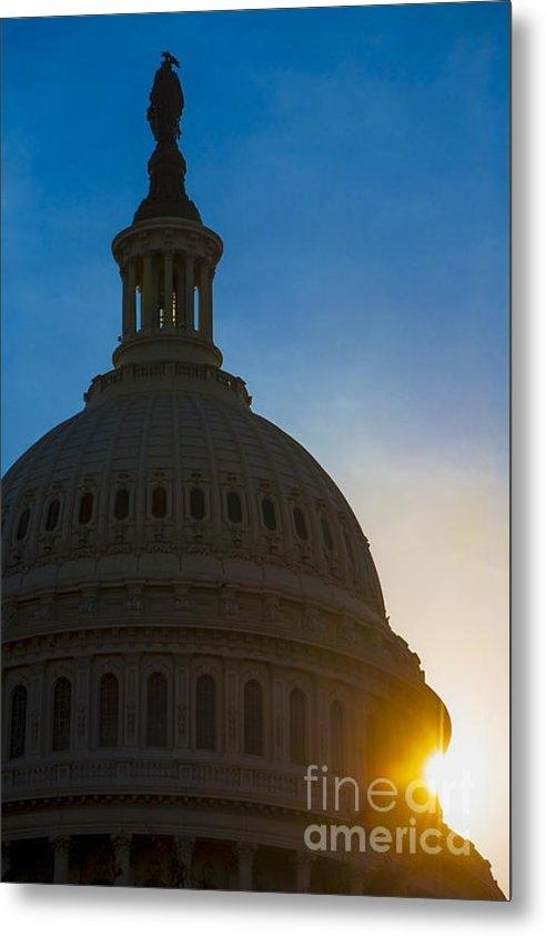 Diane Diederich - Sunrise on the United Sta... Print