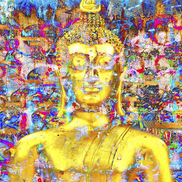 Derek Selander - Golden Buddha Print