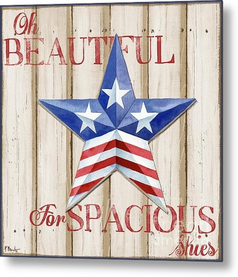 Paul Brent - Patriotic Spirit Barn Sta... Print