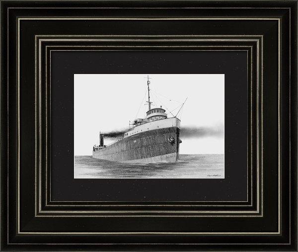 Captain Bud Robinson - Steamer BRICOLDOC Print