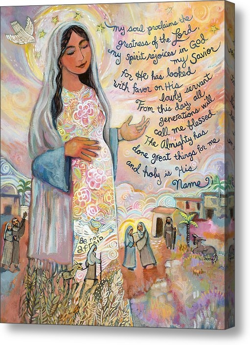 Jen Norton - Canticle of Mary Print